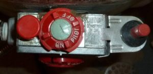 Water Heater Gas Valve Photo